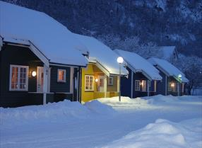 Winter at Rjukan Hytteby