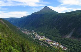Rjukan is on UNESCOs world heritage list due to the unique industrial history