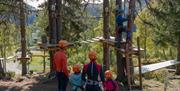 Rjukan climbing park is a nice family activity